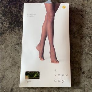 Herringbone fashion tights